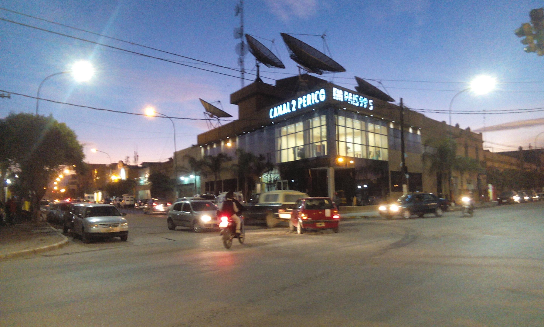 Instalaron nuevas lámparas led en el centro de Perico