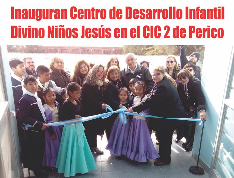 Inauguran Centro de Desarrollo Infantil Divino Niños Jesús en el CIC 2 de Perico