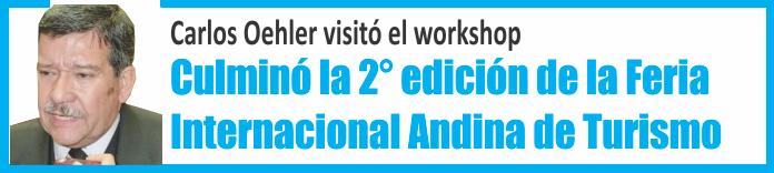 Con gran éxito culminó la segunda edición de la Feria Internacional Andina de Turismo
