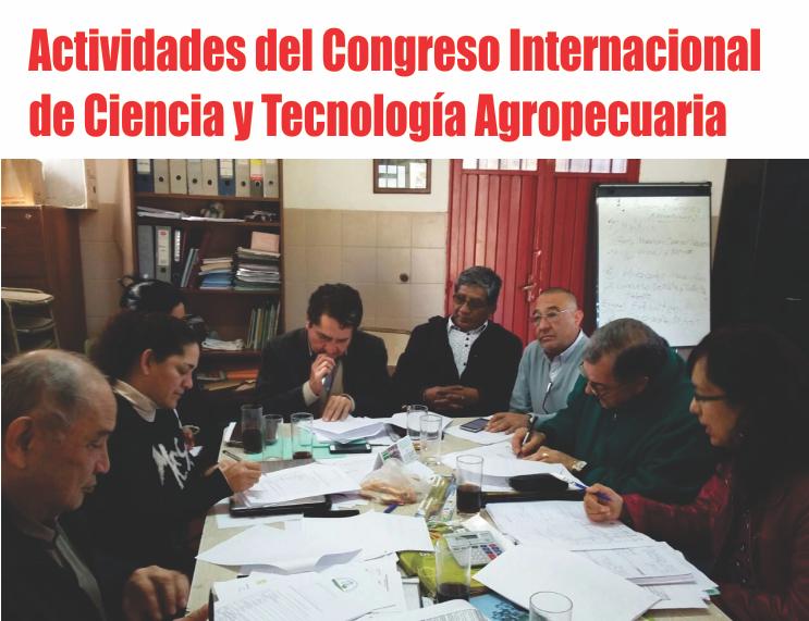Definen actividades del próximo Congreso Internacional de Ciencia y Tecnología Agropecuaria