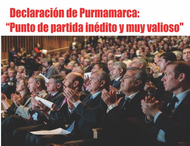 """Declaración de Purmamarca: """"Un punto de partida inédito y muy valioso» para el futuro de la educación argentina"""