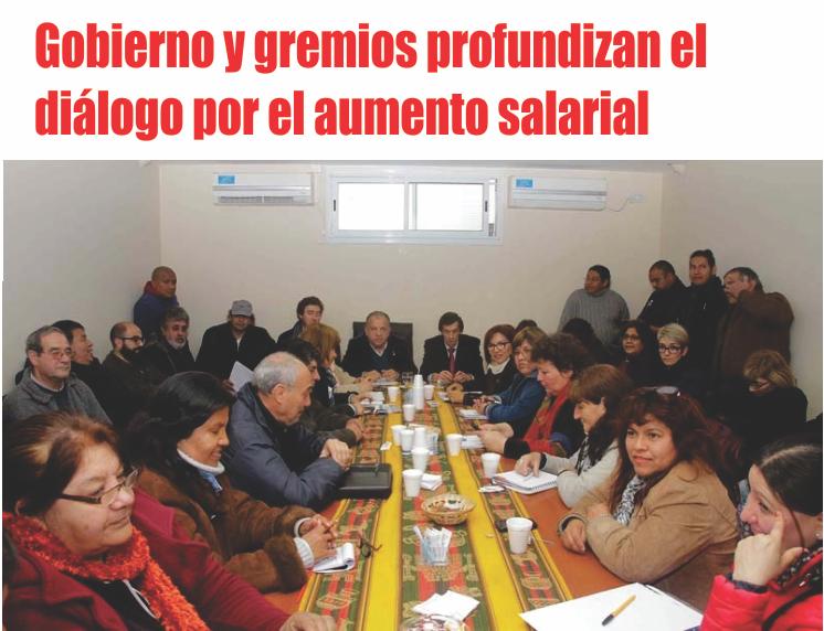 Gobierno y gremios profundizan el diálogo por el aumento salarial
