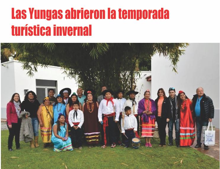 Las Yungas abrieron la temporada turística invernal