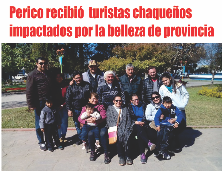 Perico recibió  turistas chaqueños impactados por la belleza de provincia