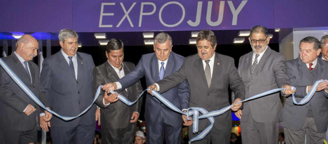 El Gobernador inauguró oficialmente la Expojuy 2016