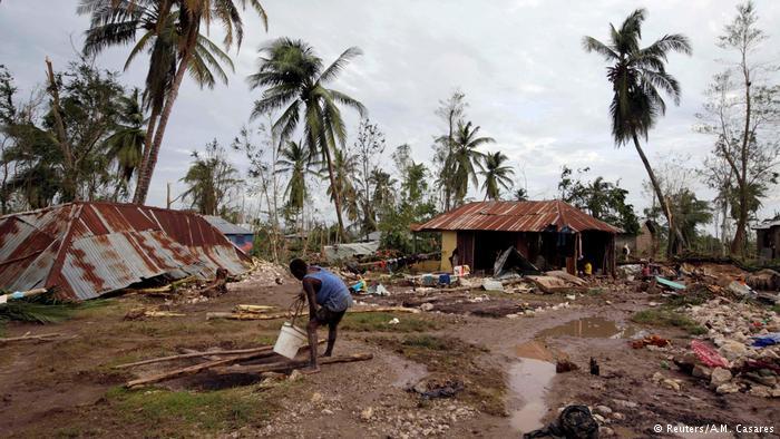 """Haití devastada por el huracán """"Matthew"""""""
