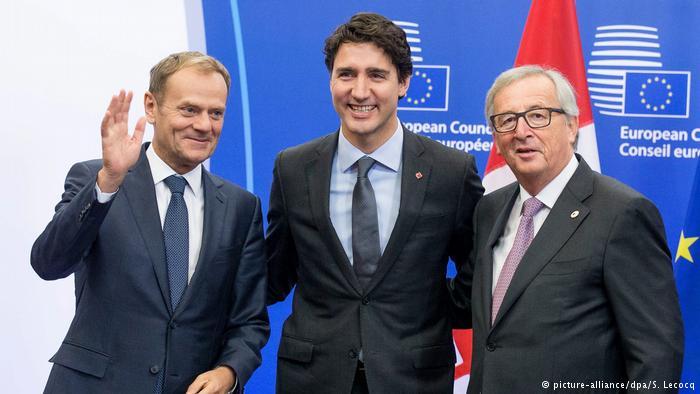 UE y Canadá firman el acuerdo de libre comercio CETA