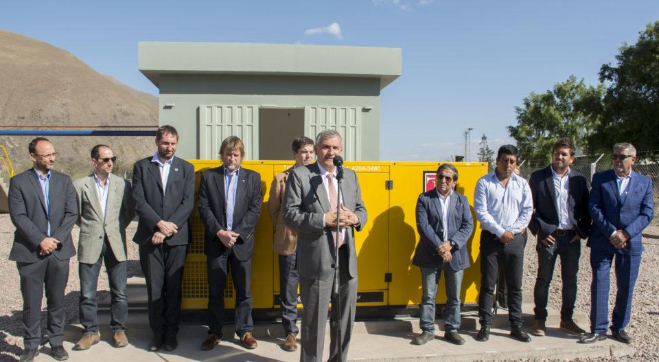 Morales inauguró el sistema de saneamiento Tumbaya-Volcán