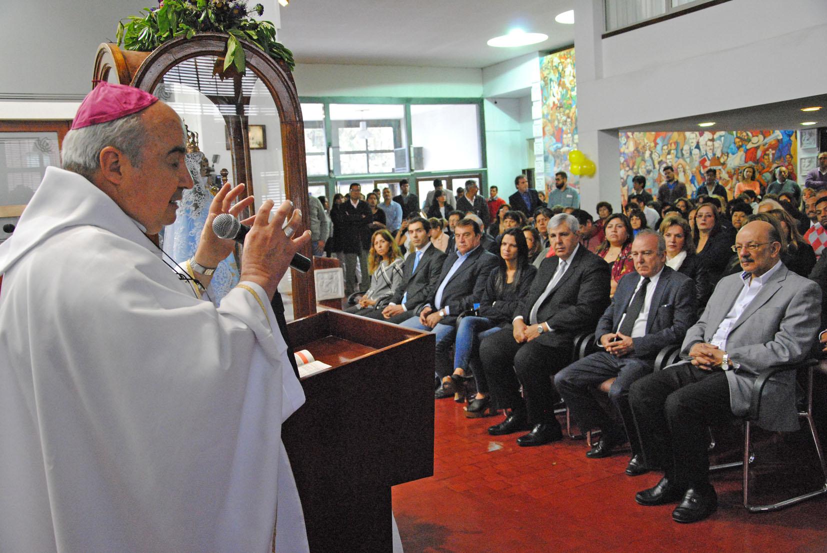 La Legislatura de Jujuy recibió la visita de la virgen de Río Blanco