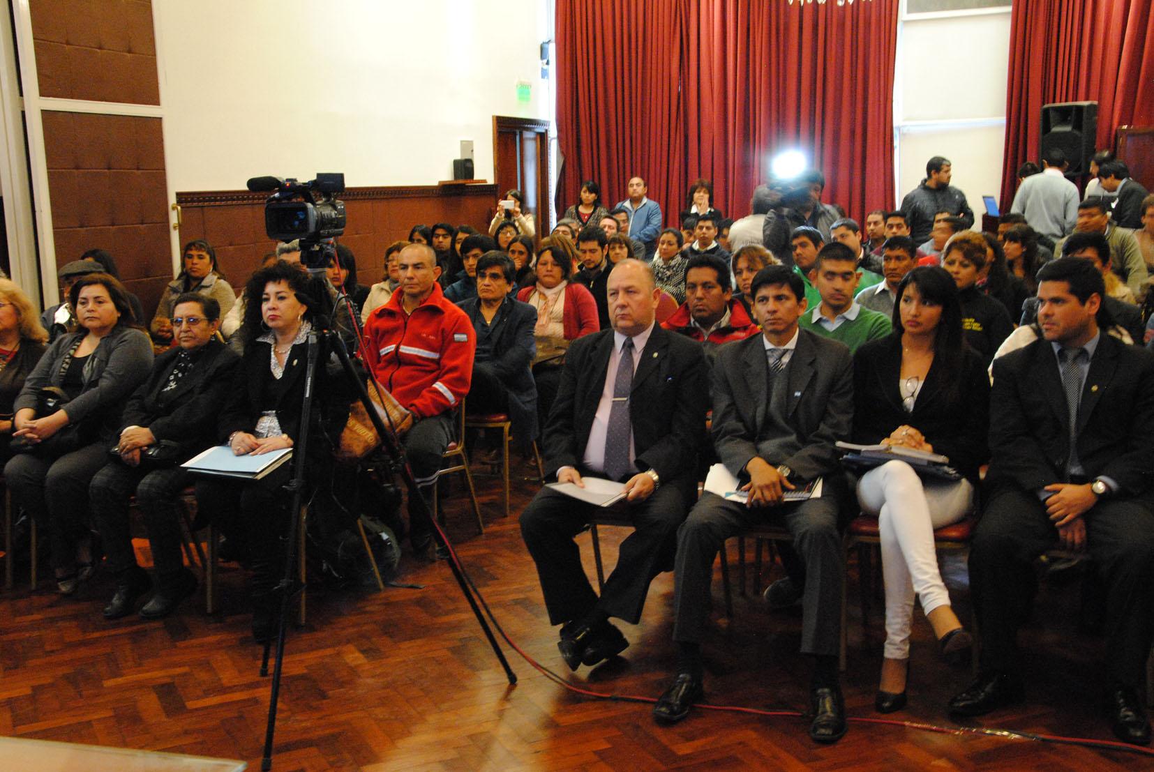 Expositores expresaron apoyo a la ley de «Tolerancia Paz»
