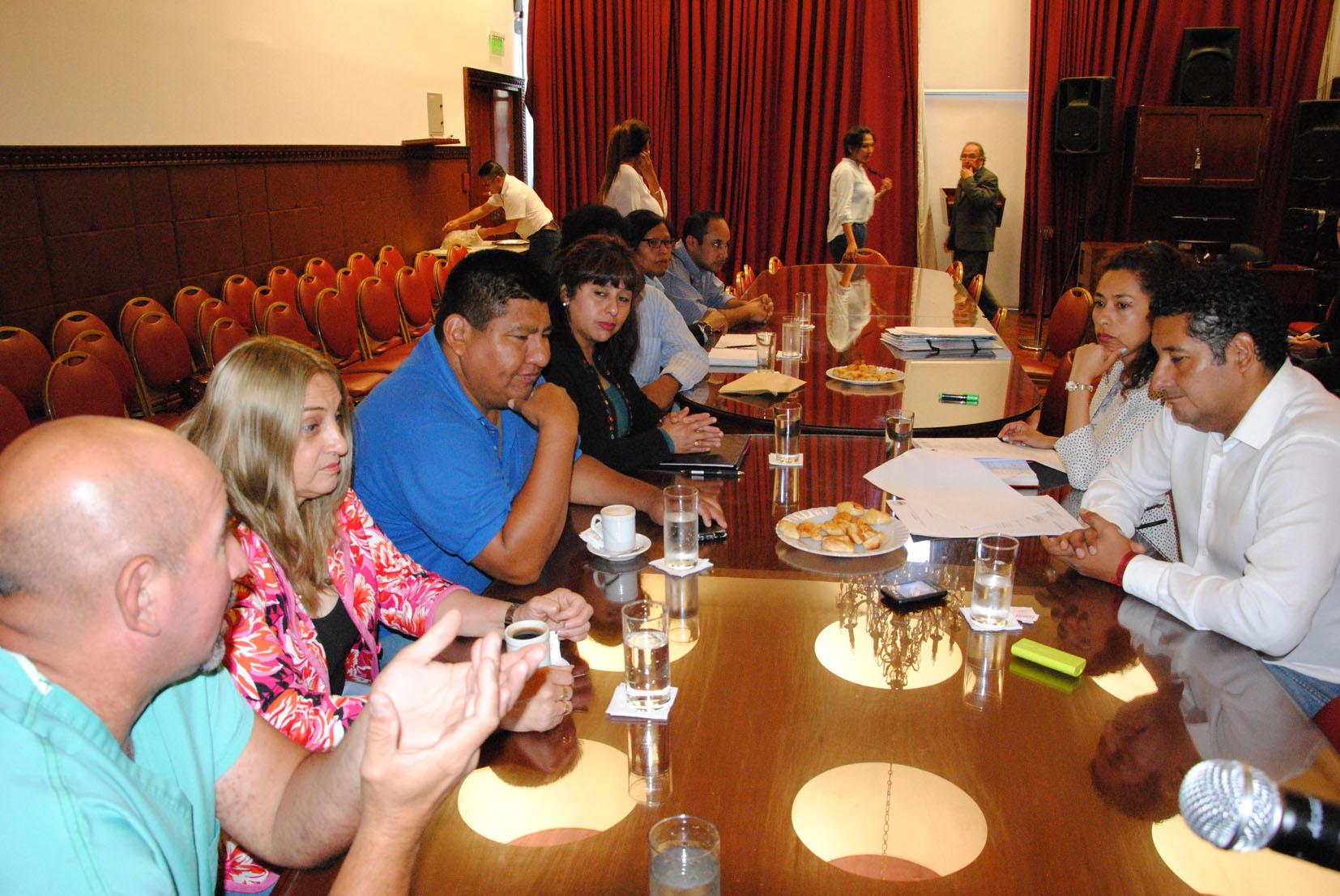 La Comisión de Ambiente de la Legislatura de Jujuy analiza proyectos para regular el uso de la pirotecnia en Jujuy