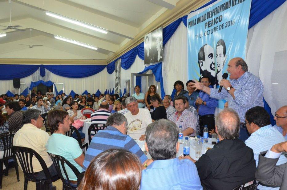 Hinojo: «Hay que ser leal a la Doctrina Peronista»