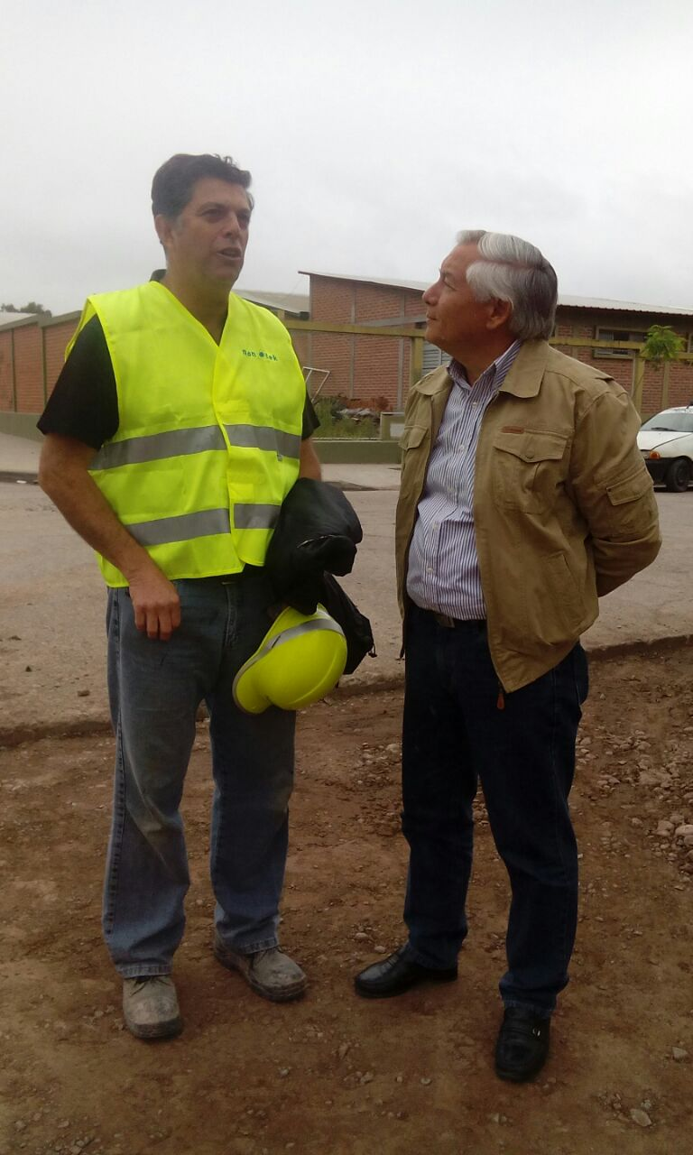 Ficoseco siguió el proceso de construcción de obra en calle Yavi