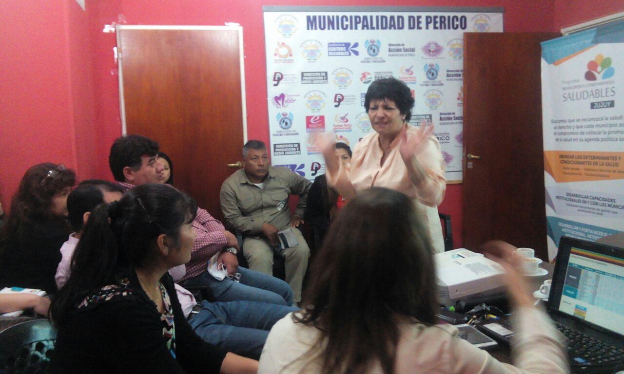 Perico trabaja para pasar de Municipio Responsable a Saludable