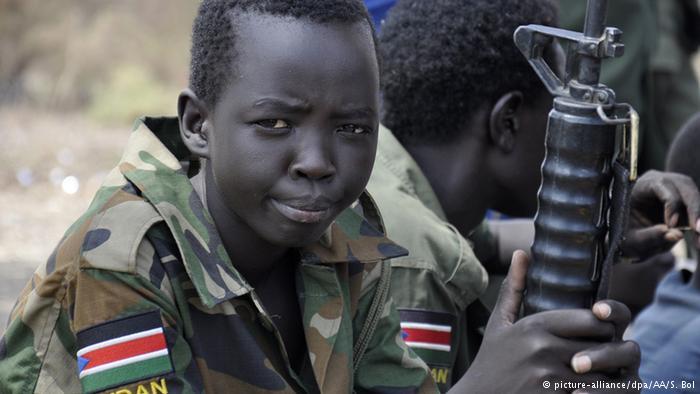 UNICEF: Al menos 17.000 niños soldado en Sudán del Sur