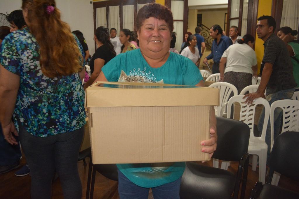 Entregaron Kits de Energía a vecinos en San Pedro