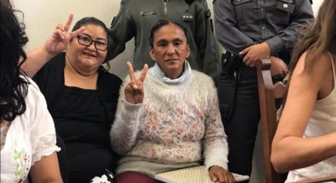 A Milagro Sala le pusieron una multa de 3700 pesos por el acampe