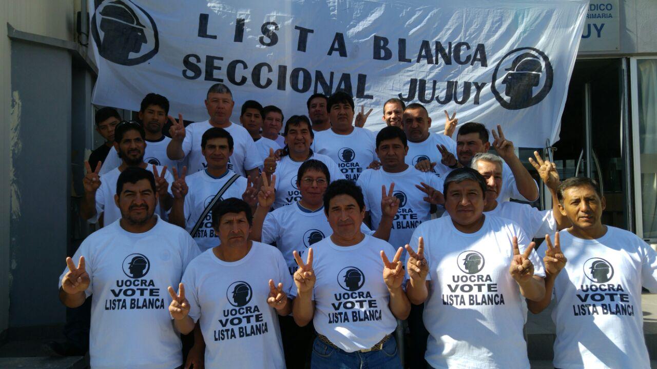 La Lista Blanca de la UOCRA busca afianzar el trabajo sindical y social de la entidad