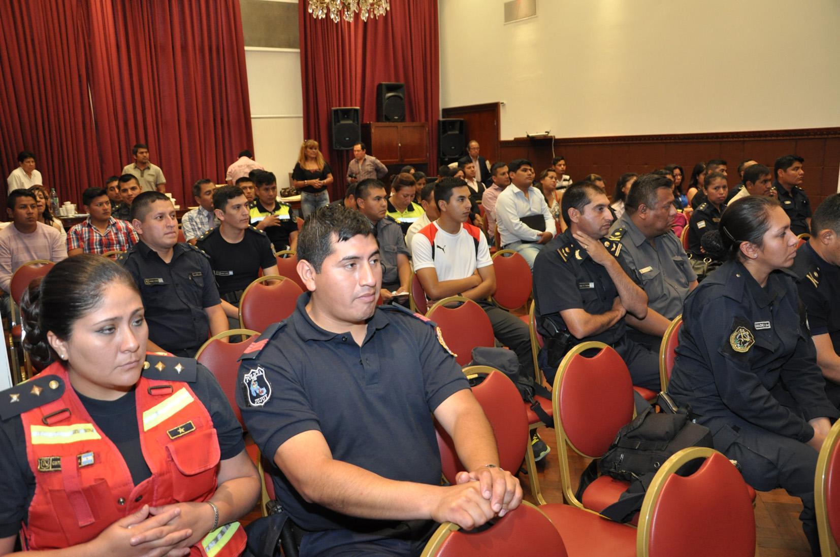 La Secretaria de Derechos Humanos culminó talleres de capacitación para la fuerza de seguridad de Jujuy