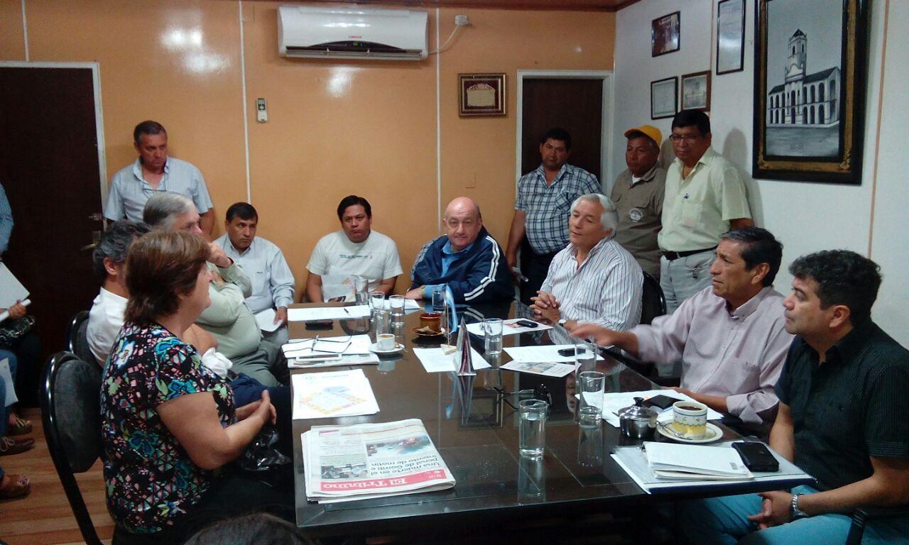 Ficoseco reunió al Gabinete para organizar Plan de Trbajo de verano, profundizando acciones, austeridad y eficiencia tributaria