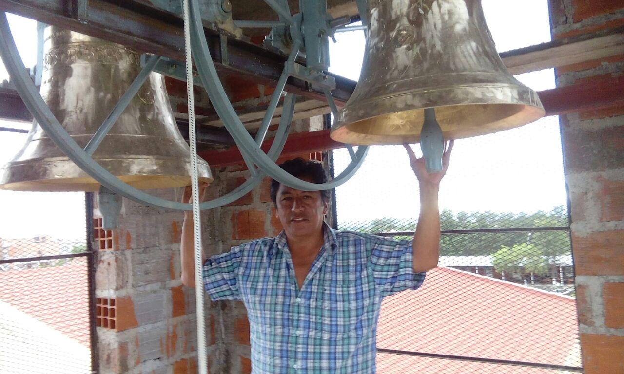 Se inauguró el campanario de la Parroquia Inmaculada Concepción de María
