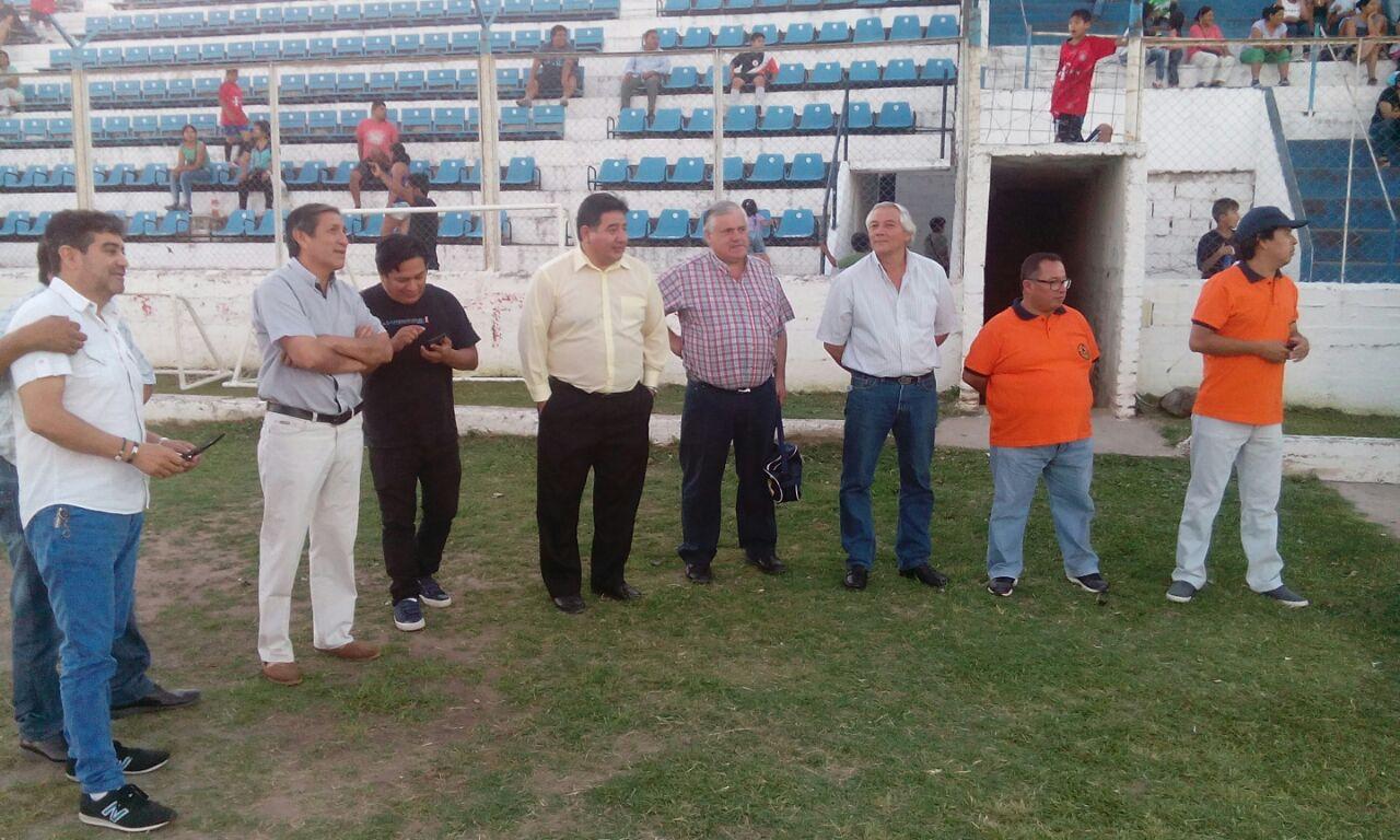 Inauguración del Torneo de Baby Fútbol de Perico