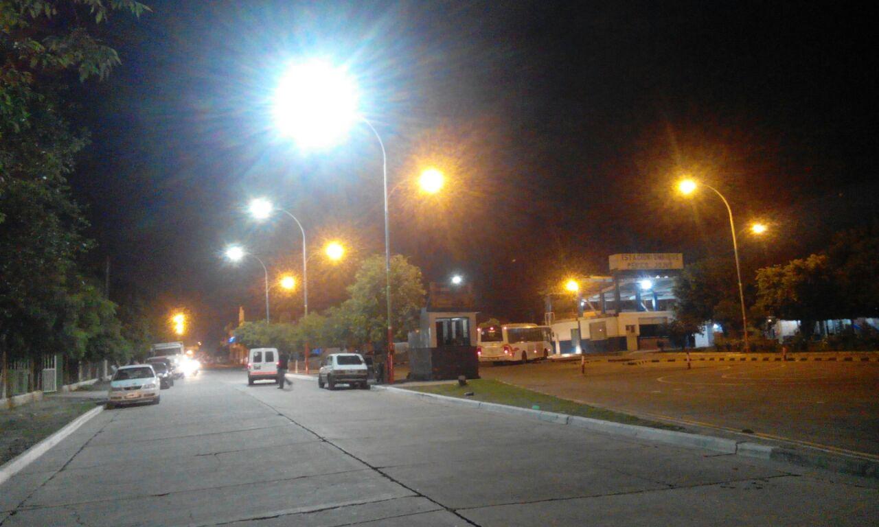 Perico estrena en su Terminal nuevo sistema de iluminación