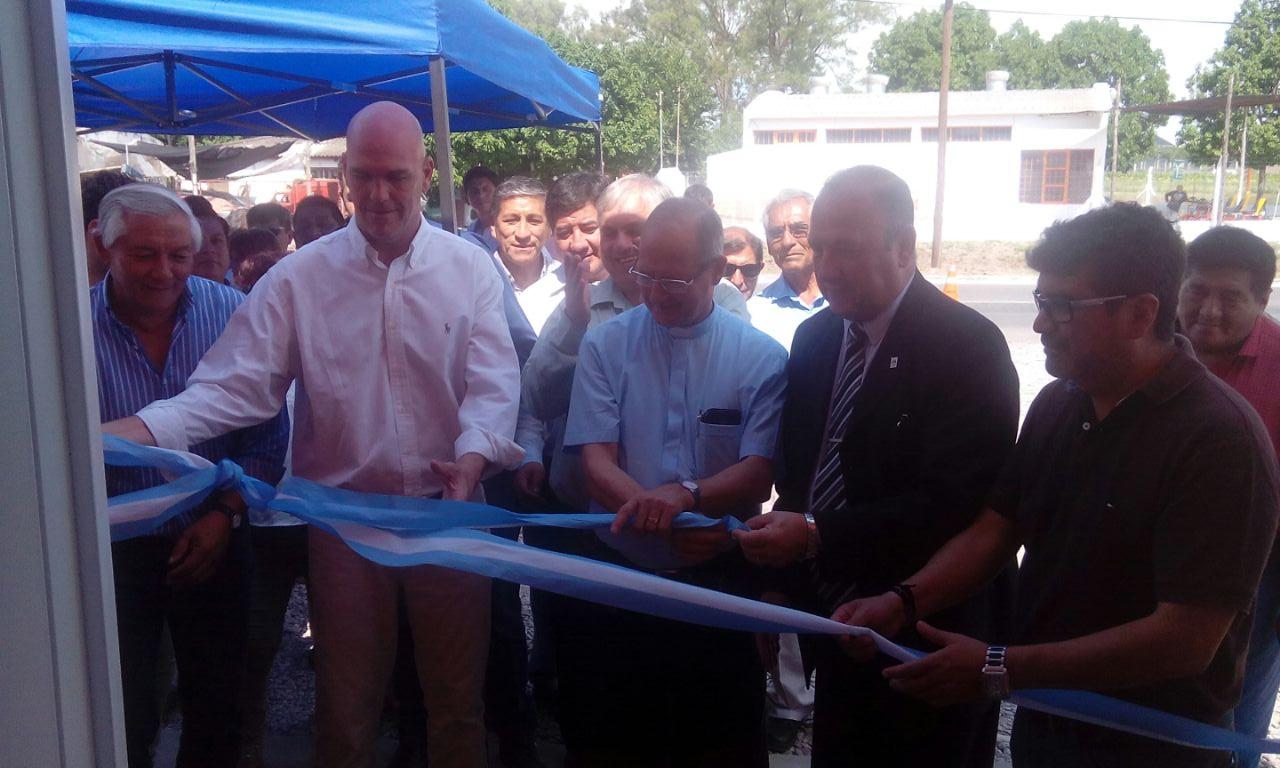 Inauguraron nueva casilla de seguridad en el acceso a Perico