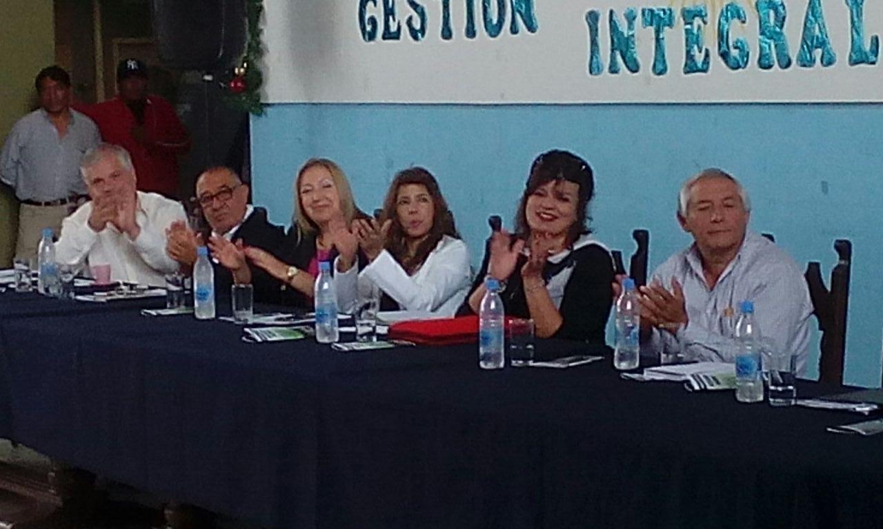 El Intendente Rolando Ficoseco y la Ministra María Inés Zigarán encabezaron las audiencia pública en Perico