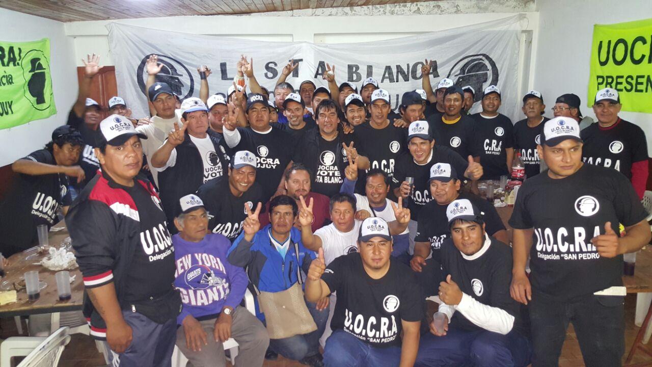 La Lista Blanca de la UOCRA promete afianzar la lucha por los derechos de los trabajadores