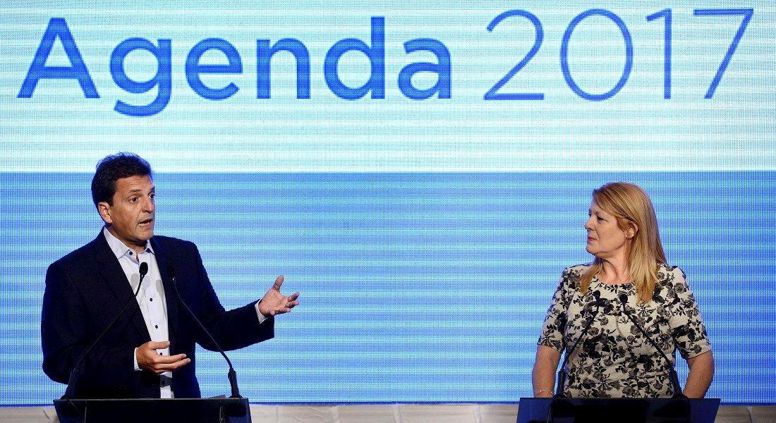 Massa y Stolbizer presentaron agenda 2017