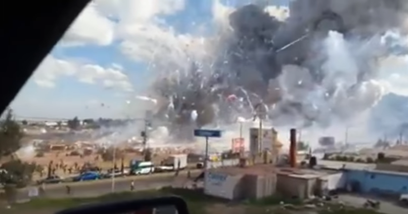 Explota una fábrica de pirotecnia en México y deja al menos 22 muertos