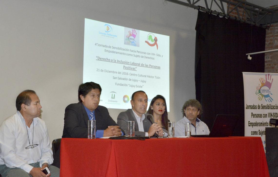 Jornada de inclusión social y laboral a personas con VIH-SIDA