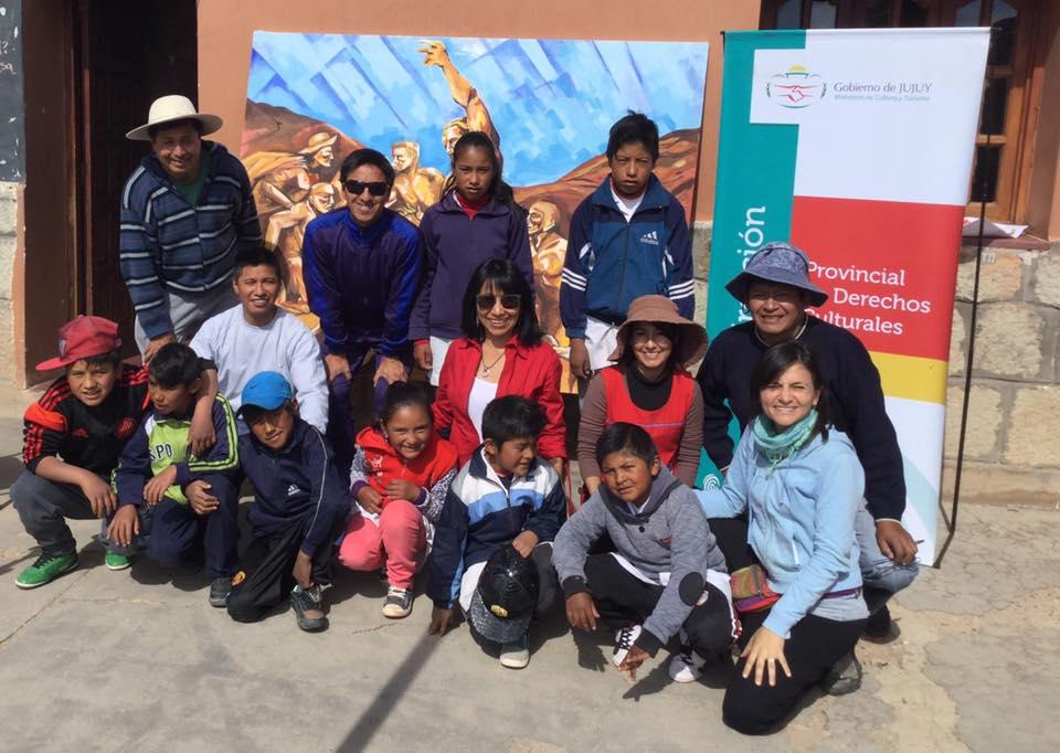 Susques:  Promueven participación de la juventud en concientización sobre derechos culturales
