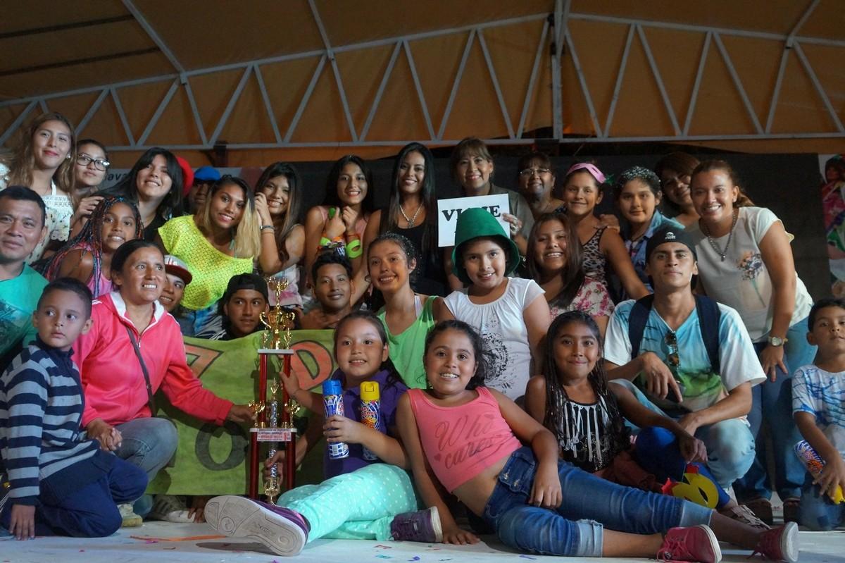 Cierre de Olimpíadas Juveniles en San Pedro