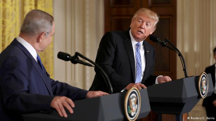 Trump, abierto a una solución «de un Estado» entre Israel y palestinos