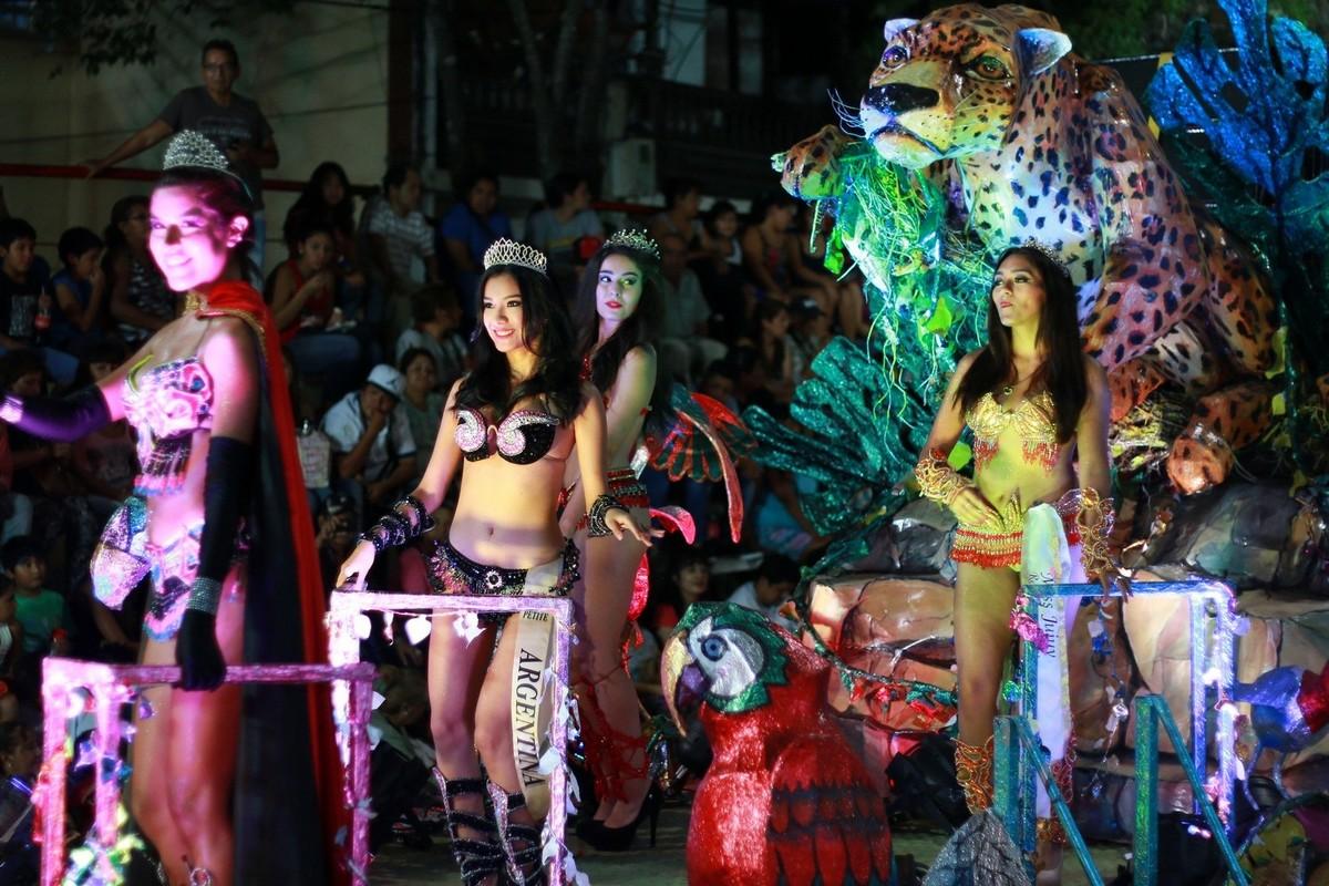 Jujuy en Carnaval brilló en los Corsos Sampedreños