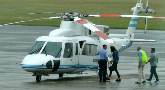 Macri mandó el helicóptero presidencial a buscar a Juliana a Punta del Este