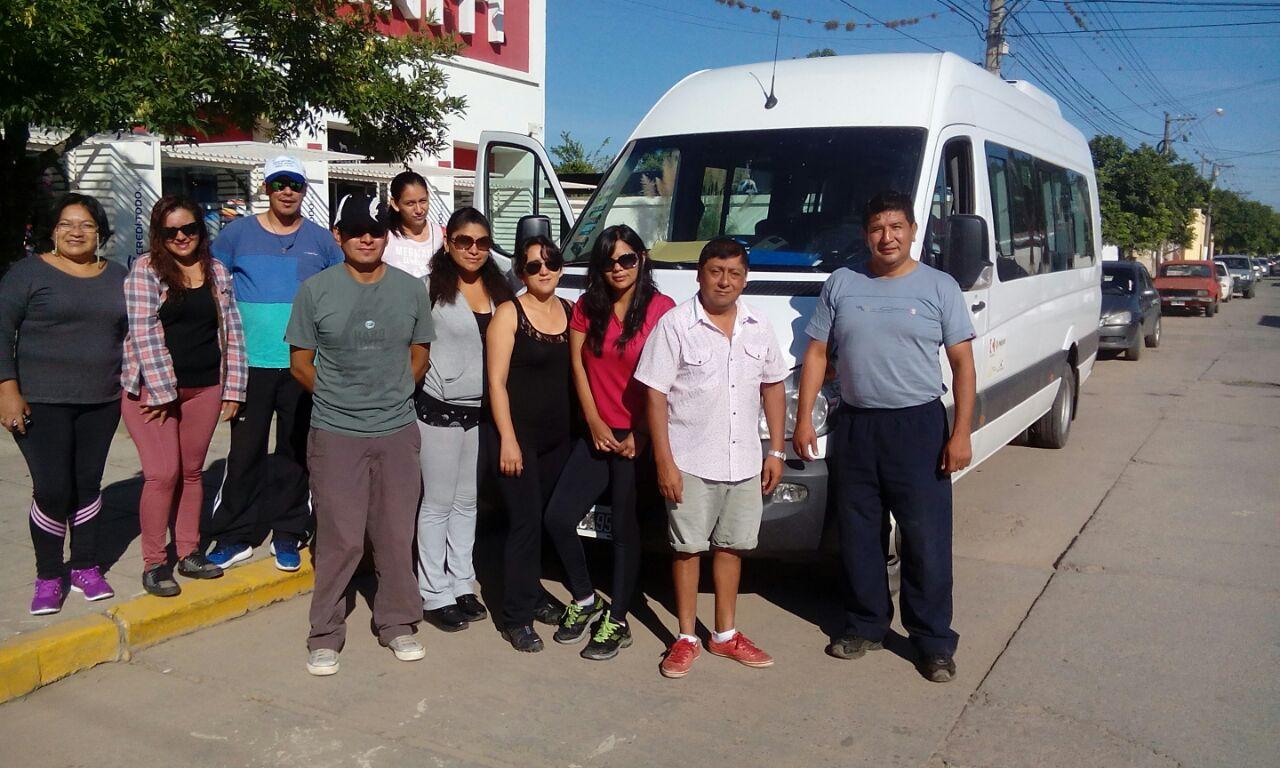 Desde la carrera de Turismo del IES invitaron a los municipios de El Carmen y Perico para apoyar  experiencia saludables