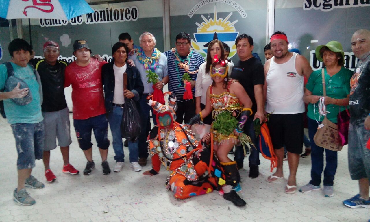 Tilcara promocionó su carnaval en Perico