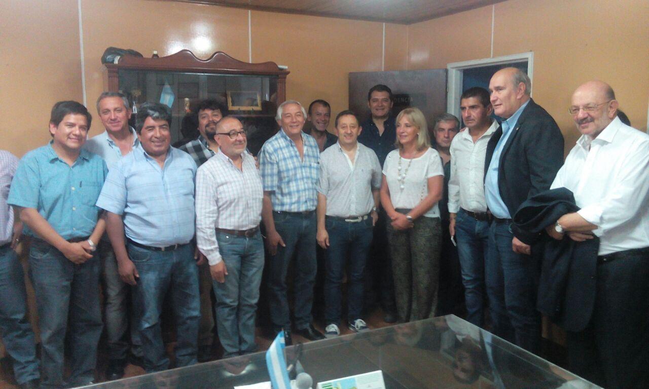 El Dr.Celso Jaque Interventor del distrito Jujuy del Partido Justicialista compartió un encuentro con hombres y mujeres de todos los departamentos