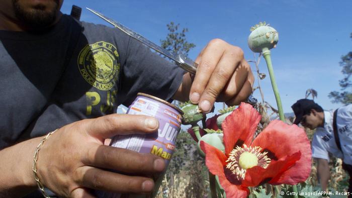 Oleada de heroína procedente de México preocupa a EE. UU.