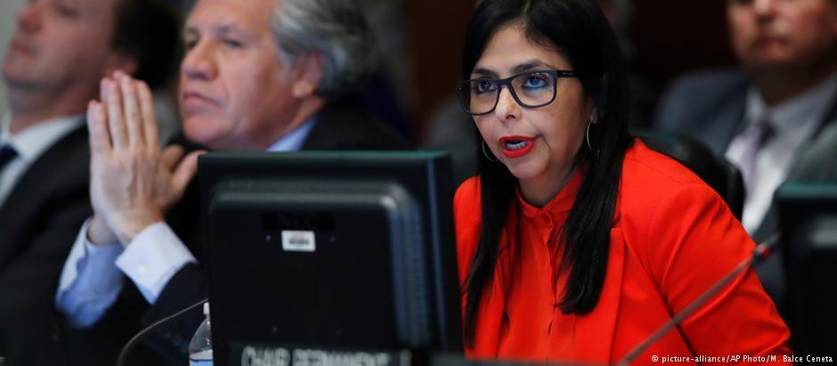 Venezuela denuncia «acciones injerencistas» ante la OEA