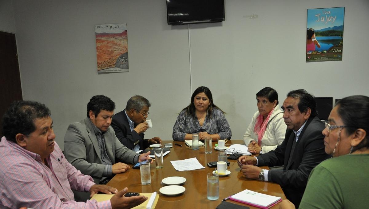 La Comisión Legislativa de Pueblos Indígenas recibió a la referente provincial Natalia Sarapura
