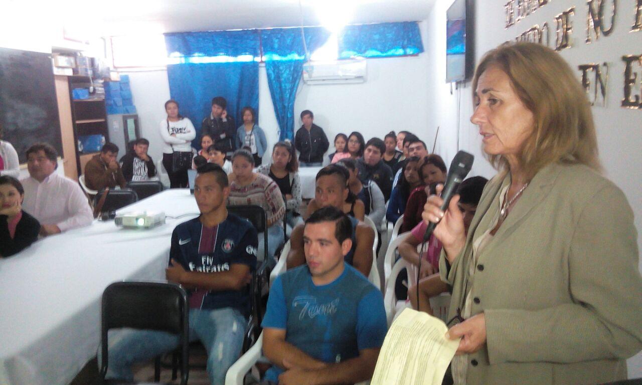 Inauguraron la primera sala de capacitación municipal del Departamento El Carmen