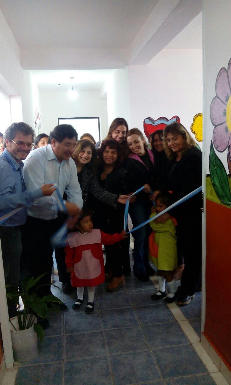 La Municipalidad de Perico inauguró salitas para niños de 3 y 4 años