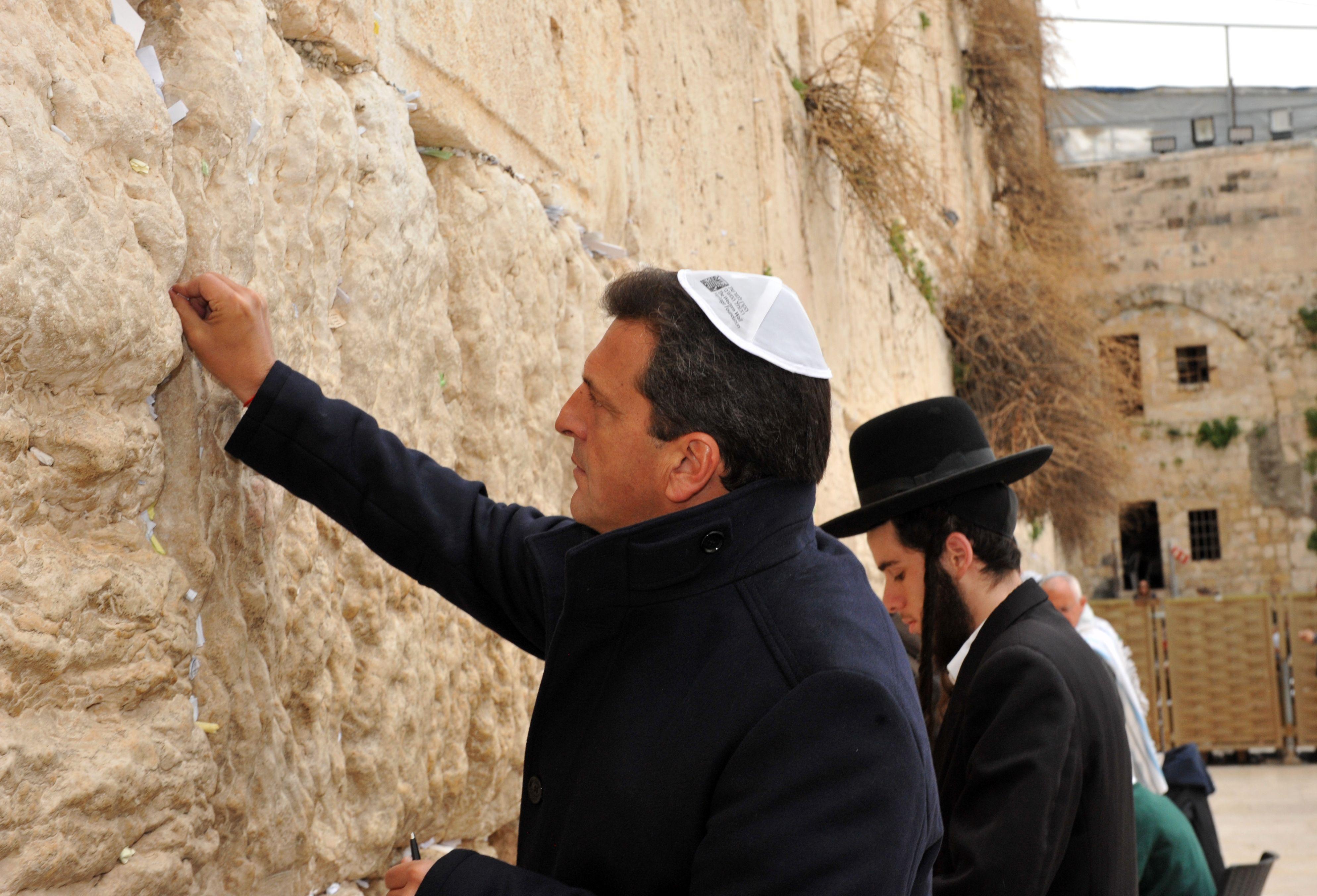 Massa en Israel: «En el mundo de la revolución tecnológica, debemos evolucionar»