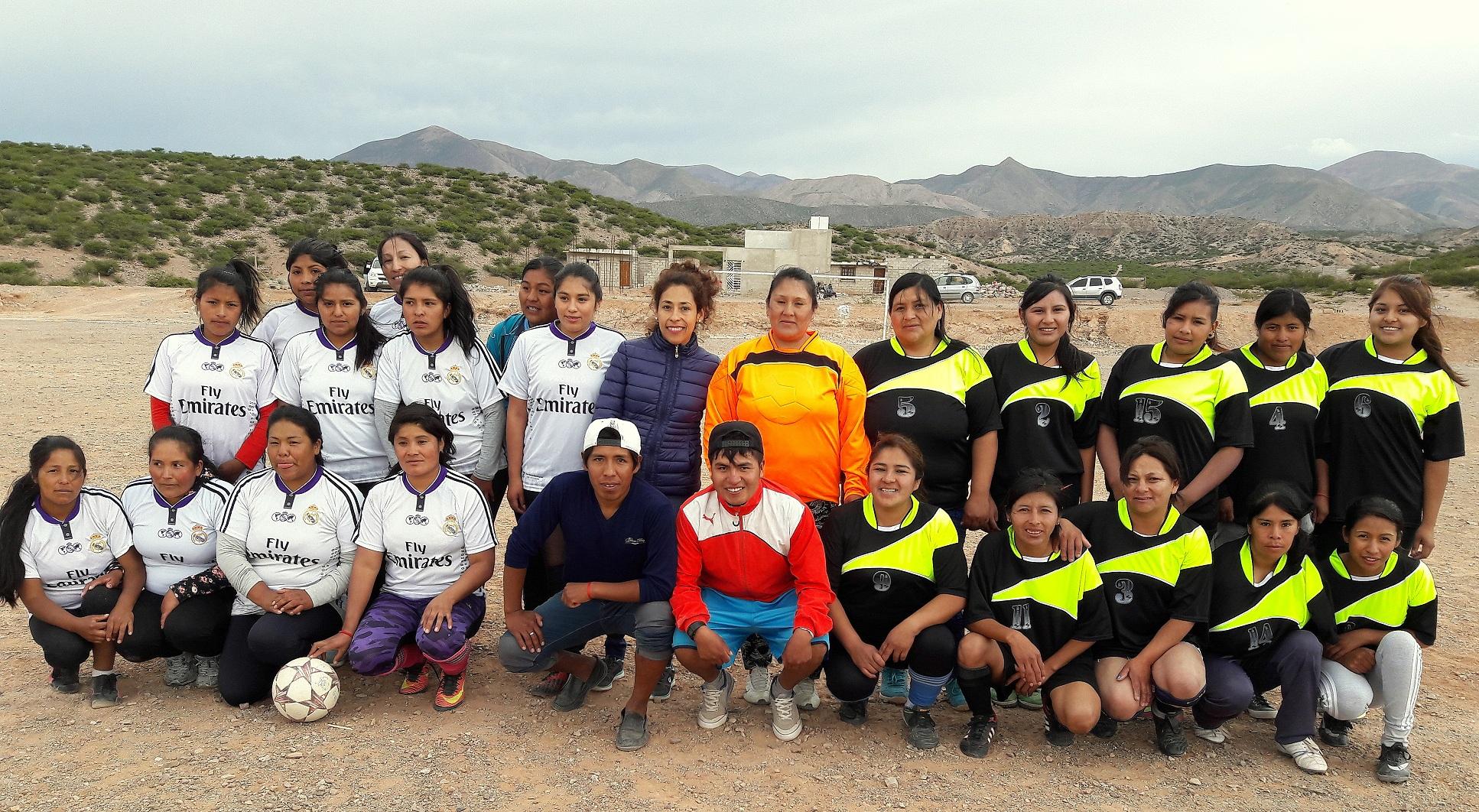 Humahuaca, Caspalá y Huacalera participan de Torneo Femenino