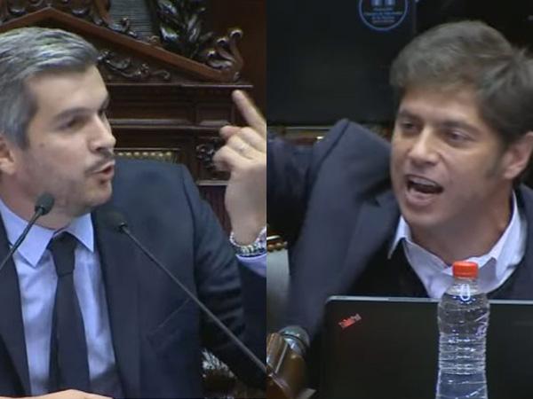 Marcos Peña 'se sacó' y cruzó a los diputados K: «¡No mientan más!»