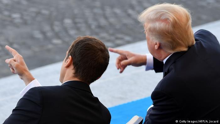 Macron a Trump: «Nada separará a Francia y Estados Unidos»